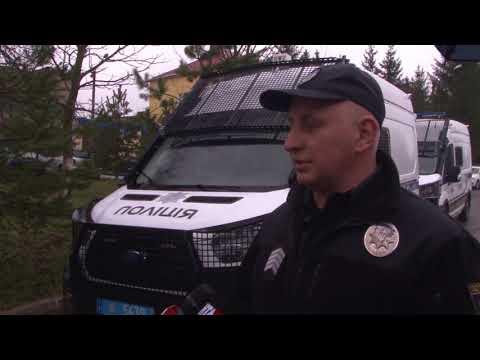 Поліцейські Львівщини отримали нові службові автомобілi
