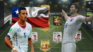 Fifa 15 Ultimate Team, Gameplay en PS4- Contratando jugadores | Armando la Selección Chilena