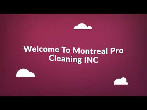 Maid Cleaning Service in Montreal, QC