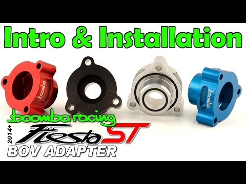 Boomba Racing 2014+ Ford Fiesta ST Blow Off Valve Adapter [BOV] Install