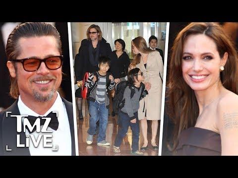 Brad Pitt & Angelina Jolie: Custody War  TMZ Live