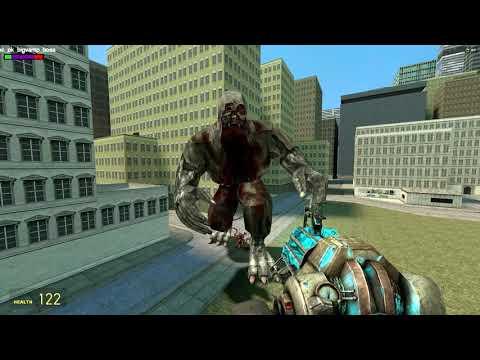 Garry's Mod Painkiller Vs Resident Evil 5 Mini bosses |