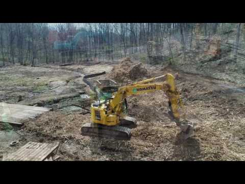 Drone Footage: Greenwood Pond and Blackwater Creek Tributary Stream Restoration
