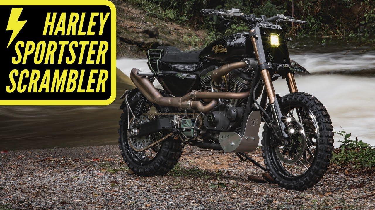 harley davidson gas tank wiring harley sportster scrambler ep 5 wiring start up youtube  harley sportster scrambler ep 5