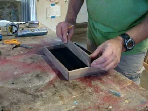 build a jewelry box pt 5 completing the trays youtube. Black Bedroom Furniture Sets. Home Design Ideas