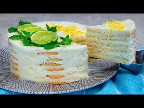 délicieuse-recette-de-gâteau-avec-une-fine-saveur-de-citron.-sans-four-ni-gÉlatin|-savoureux.tv
