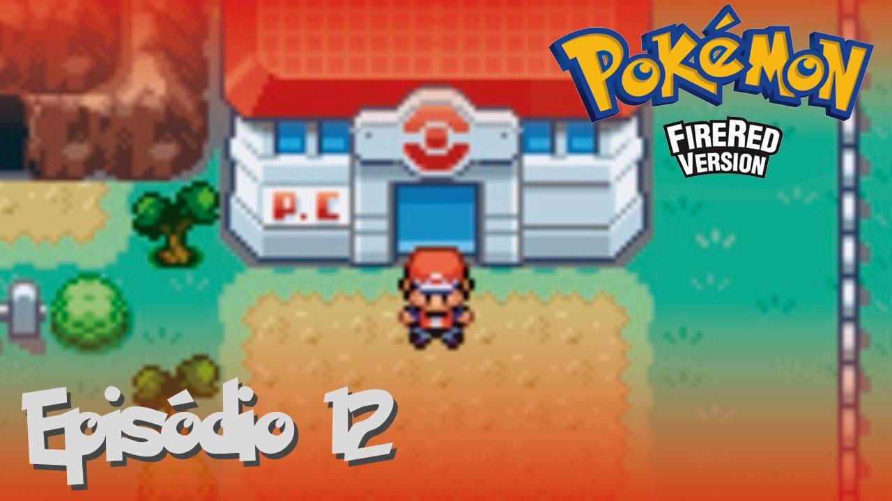 Pokemon Fire Red Episodio 12 Caminho Ao Tunel De Pedra Youtube