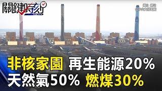 「政府畫大餅」2025年非核家園 再生能源20%、天然氣50%、燃煤30%你信!? 關鍵時刻20170817-5 陳立誠 黃世聰 傅鶴齡