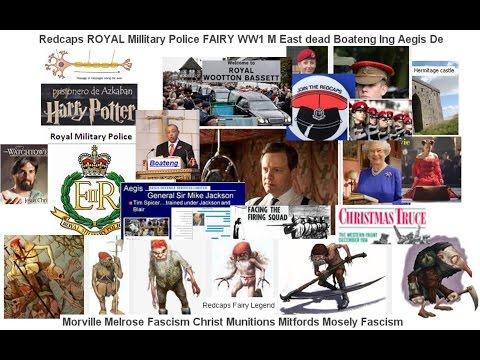 Redcap Millitary Police FAIRY WW1 M East dead Boateng Ing Aegis De Morville Melrose Fascism Christ M
