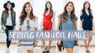 HUGE SPRING TRY ON HAUL! | Asos & Urban Outfitters 2016 | Amelia Liana