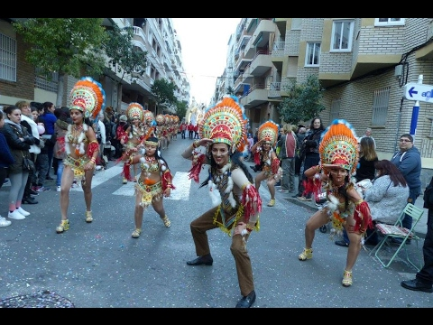Carnaval Torrevieja 2017. Comparsa Puerto Rico.