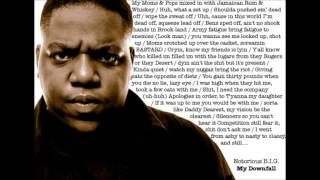Biggie Smalls - My Downfall 2014 Remix