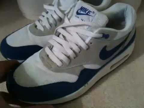 Air Max 1 - How To Spot Fake (Pre 2008) shoes. - YouTube a40989a7407