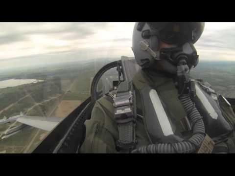 Norske F-16 identifiserer russiske fly under Baltic Air Policing