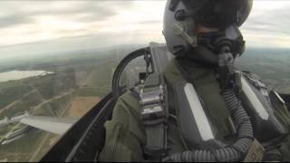 Norske F-16 identifiserer russiske fly under Baltic Air Policing