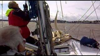 Gambar cover Matrero - franco a colonia con spy, con casi 40 nudos de viento (04/09/2010)