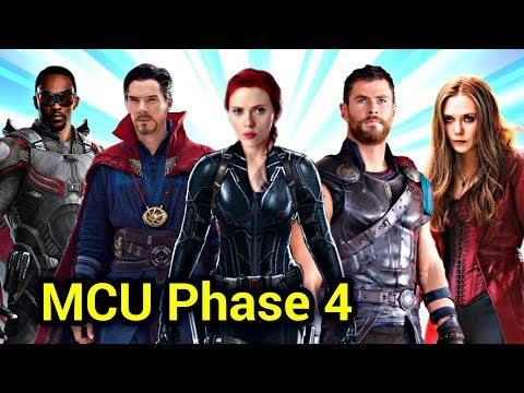 MCU Phase 4 Explained In HINDI | Marvel New Movies & TV Show Details In HINDI | Marvel Phase 4