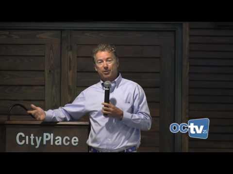 Rand Paul speaks in Oldham County