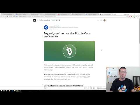 Coinbase Adds Bitcoin Cash (BCH)