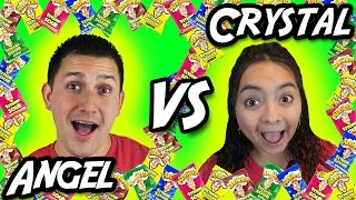 Angel VS Crystal - Warheads Arcade Challenge