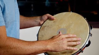 """MEINL Percussion 12"""" Traditional Wood Pandeiro - PA12CN M"""