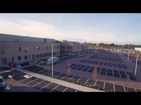 Omagh Hospital and Primary Care Complex - Drone Video