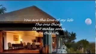 GEORGE BENSON & ROBERTA FLACK- YOU ARE THE LOVE OF MY LIFE