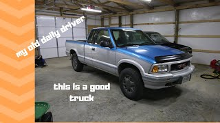 94 gmc sonoma test drive and surprise (chevy s10) pt1