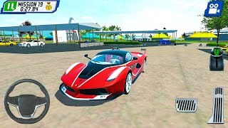Parking Masters Supercar Driver New Car (Scuderia) - Android Gameplay FHD #3