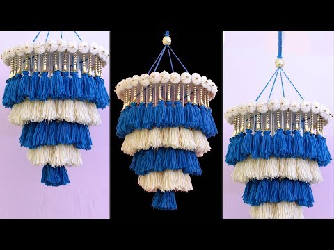 WOW !!! Amazing Woolen Wall Hanging || DIY ROOM DECOR || Handmade Wall Hanging