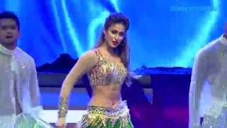 Ileana rocking the stage at The Vanitha Film awards