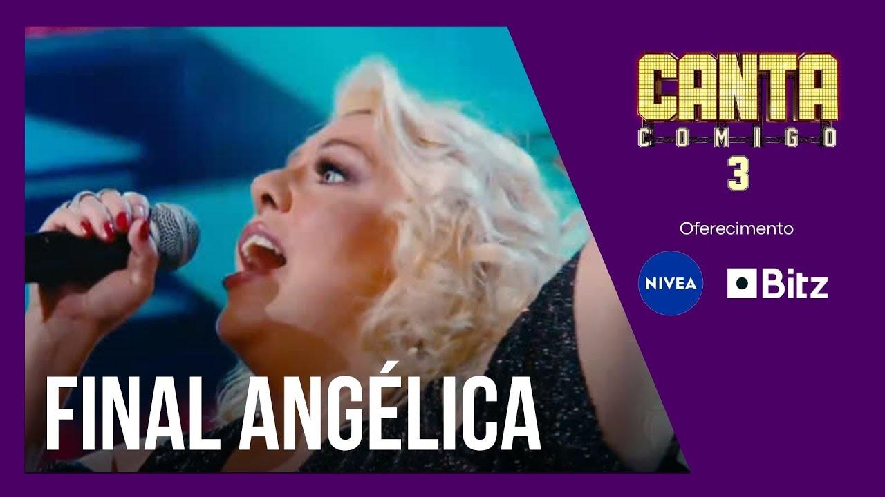 Angélica Sansone solta a voz com It's Raining Men na apresentação final