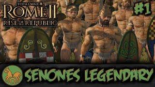 TW: Rome II - Rise of the Republic - Senones Legendary Campaign #1