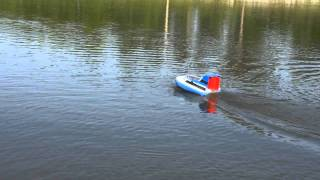 RC Hovercraft Part 5 Water Testing