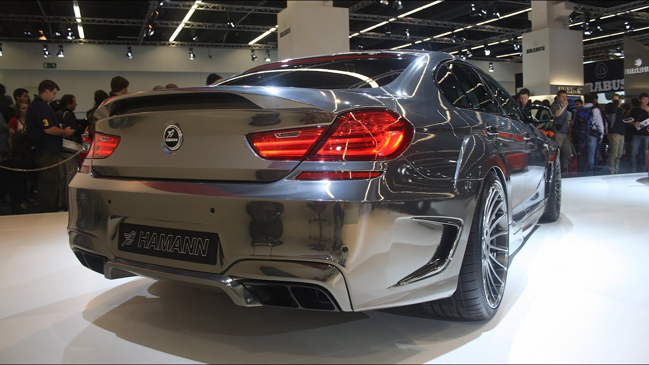The Chrome Hamann Mirr6r M6 Gran Coupe Iaa Frankfurt
