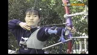 神奈川県の永谷高校アーチェリー部の特集です。 同高の三浦選手が現役高...