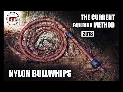 My Current Nylon/Paracord Bullwhip Making Method 2018 | Nick's Whip Shop