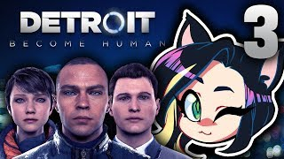 Detroit: Become Human: Meeting Hank - PART 3 - Kitty Kat Gaming