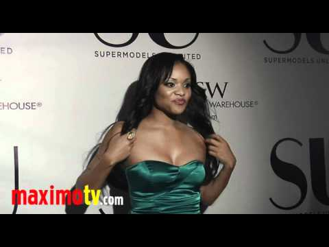 ERICA HUBBARD at Supermodels Unlimited Magazine 10th Anniversary Party