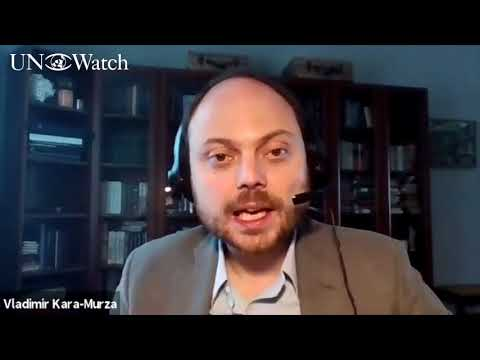 Vladimir Kara-Murza Opposes Russia's Candidacy to the U.N. Human Rights Council