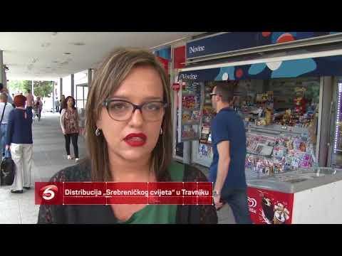 """Distribucija """"Srebreničkog cvijeta"""" u Travniku"""