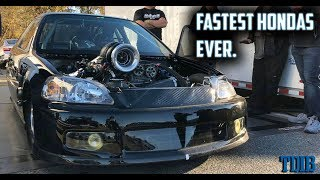 Turbo Honda Destroys The Competition! - The Fastest Hondas In The World