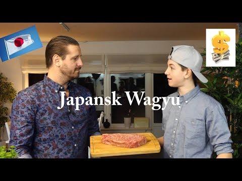 Vi provar världens dyraste kött. Japansk Wagyu