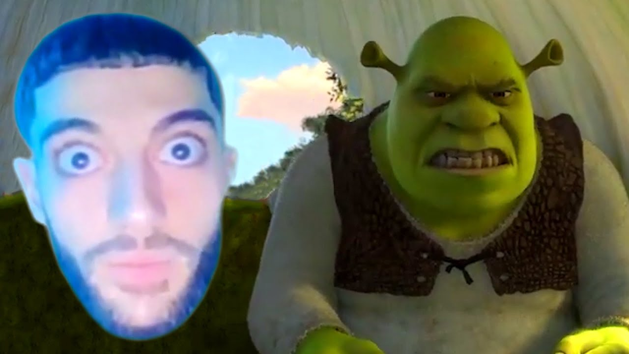 Wake Up Meme But It S Shrek Youtube