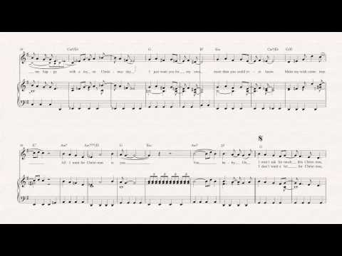 Violin - All I Want For Christmas - Mariah Carey Sheet Music, Chords, and Vocals