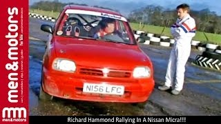 Richard Hammond Rallying In A Nissan Micra!!!