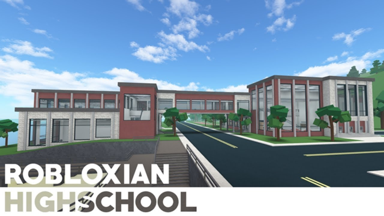 Robloxian Highschool Old Map Roblox Robloxian Highschool New Map Showcase No Commentary Youtube