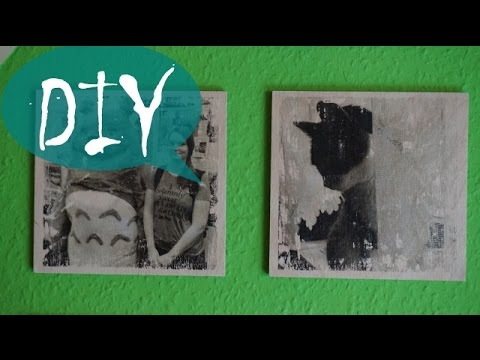 fotos auf holz bertragen fototransfer diy tutorial youtube
