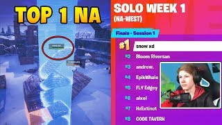 NEW BEST PLAYER: *SNOW XD* TOP 1 Fortnite World Cup NA! | Fortnite Relax