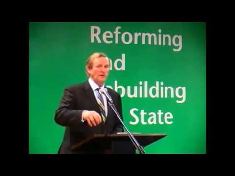 2012 An Taoiseach, Mr Enda Kenny TD